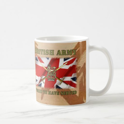 Proud ton have served ...... UK Coffee Mugs