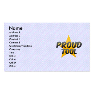 Proud Tool Business Card Template