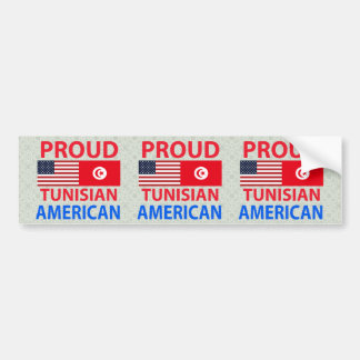 Proud Tunisian American Bumper Sticker