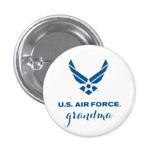 Proud U.S. Air Force Grandma Pin Button