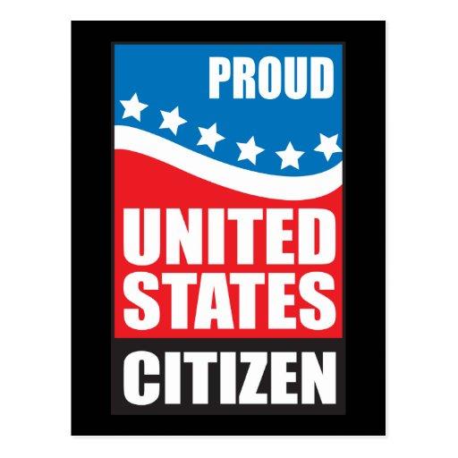 Proud U.S. Citizen Post Card