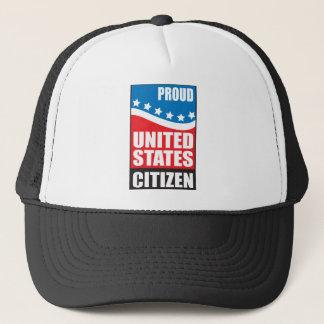 Proud U.S. Citizen Trucker Hat