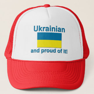Proud Ukrainian Trucker Hat