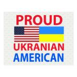 Proud Ukranian American Postcards