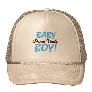 Proud Uncle Baby Boy T-shirts and Gifts Cap