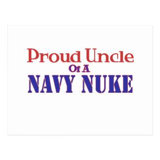 Proud Uncle of a Navy Nuke Postcard