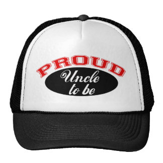 Proud Uncle to Be Trucker Hats