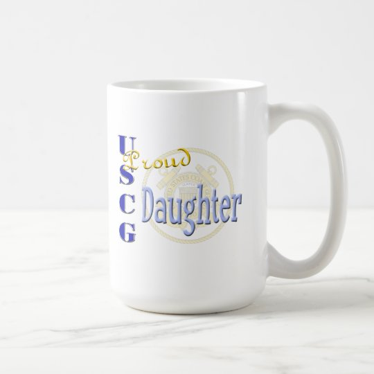 Proud USCG Daughter Coffee Mug