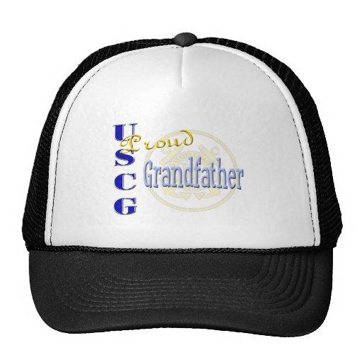 Proud USCG Grandfather Mesh Hats