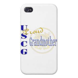 Proud USCG Grandmother iPhone 4/4S Case