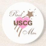 Proud USCG Mum Heart