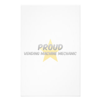 Proud Vending Machine Mechanic Stationery Paper