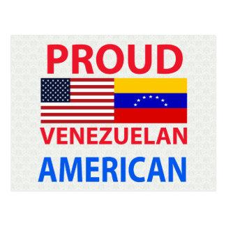 Proud Venezuelan American Postcards