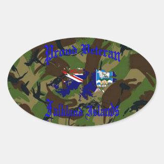Proud veteran…. Falklands Stickers