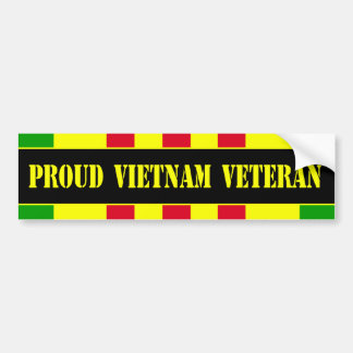 Proud Vietnam Veteran Bumper Sticker