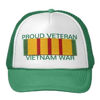 Proud Vietnam War Veteran Cap Hat