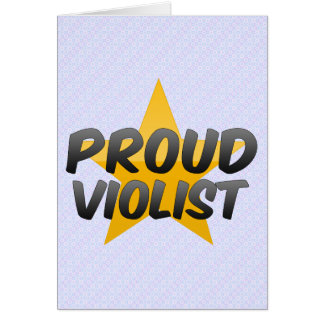 Proud Violist Cards
