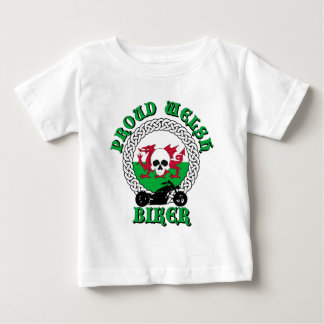 Proud Welsh Biker Baby T-Shirt