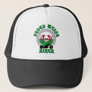 Proud Welsh Biker Trucker Hat