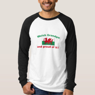Proud Welsh Grandpa T-Shirt