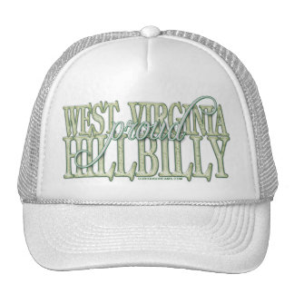 Proud West Virginia Hillbilly Trucker Hat