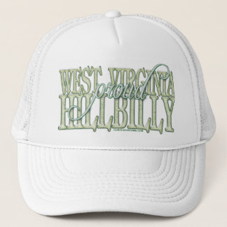 Proud West Virginia Hillbilly Trucker Hat