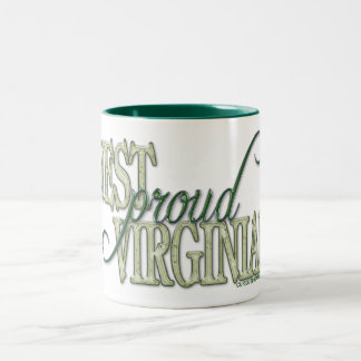 Proud West Virginian Two-Tone Coffee Mug