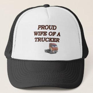 PROUD WIFE TRUCKER TRUCKER HAT