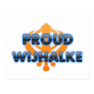 Proud Wijhalke, Wijhalke pride Postcard