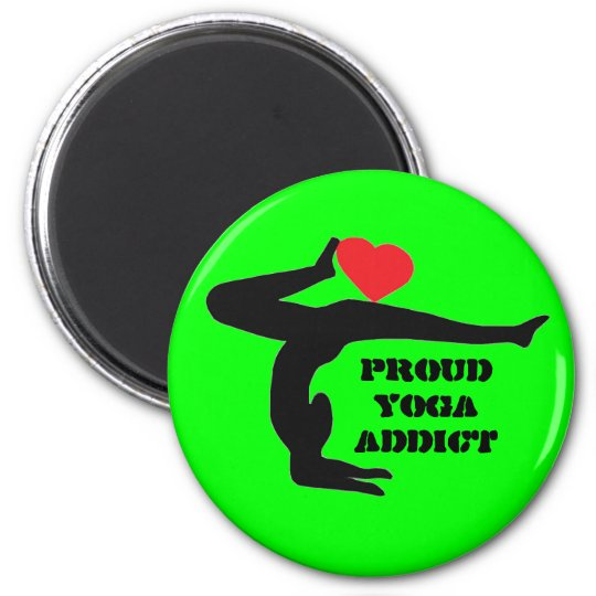 Proud Yoga Addict - Yoga Magnet