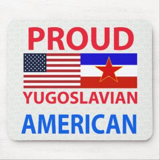 Proud Yugoslavian American Mouse Pad