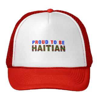 proudhaitian03 mesh hats