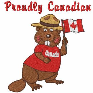 Proudly Canadian Beaver Polo Shirt