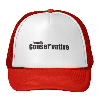 Proudly Conservative Cap