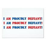 Proudly Defiant 3 Personalized Announcement
