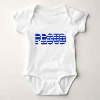 Proudly Greek Baby Bodysuit