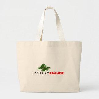 Proudly Lebanese, Lebanese And Proud - Lebanon Tote Bags