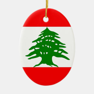Proudly Lebanese - Proud To Be Lebanese - Lebanon Christmas Ornament