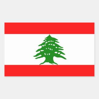 Proudly Lebanese - Proud To Be Lebanese - Lebanon Rectangular Sticker