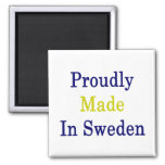 Proudly Made In Sweden