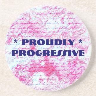 Proudly Progressive coaster