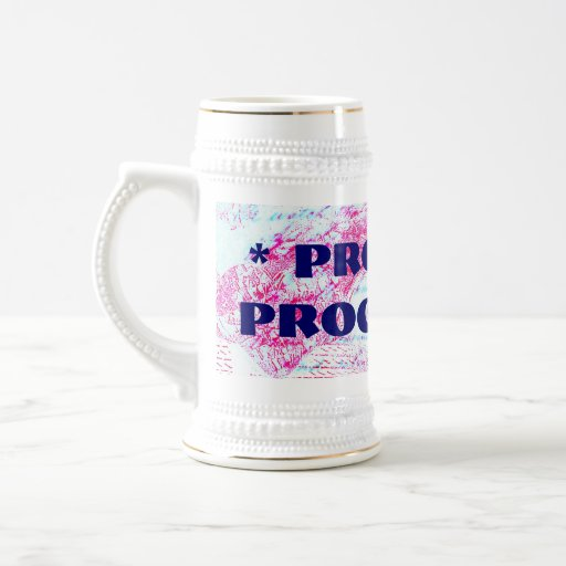 PROUDLY PROGRESSIVE mug