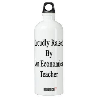 Proudly Raised By An Economics Teacher SIGG Traveller 1.0L Water Bottle