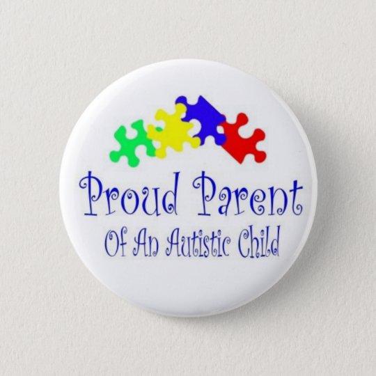 ProudParentPuzzleshirt 6 Cm Round Badge