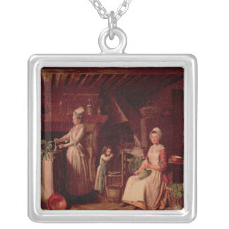 Provencal Kitchen Silver Plated Necklace