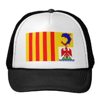 Provence-Alpes-Côte-d Azur flag Mesh Hats