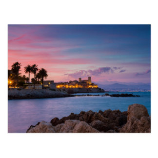 Provence - Castle of Antibes postcard