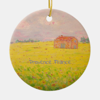 Provence France Christmas Ornament