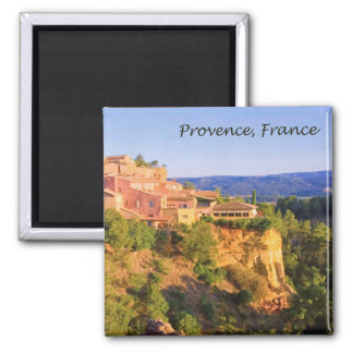 Provence, France Village Magnet