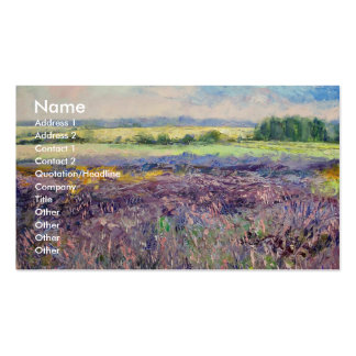 Provence Lavender Business Card